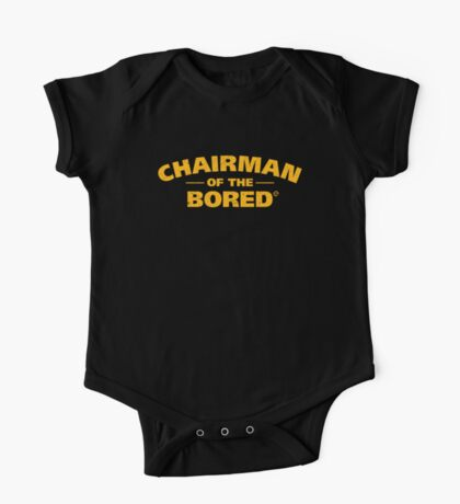 Chairman Of The Bored (Yellow) One Piece - Short Sleeve
