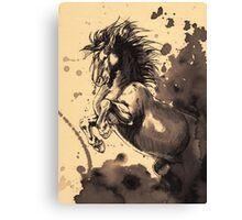 Dawn Rider Canvas Print