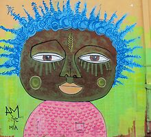 Wall art 9. by Anne Scantlebury