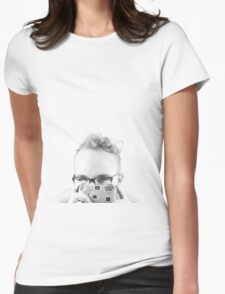 Shoot me Womens Fitted T-Shirt