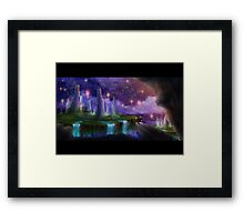 The Night the Stars Were Released Framed Print