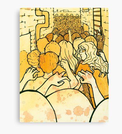 Mass Hysteria Canvas Print