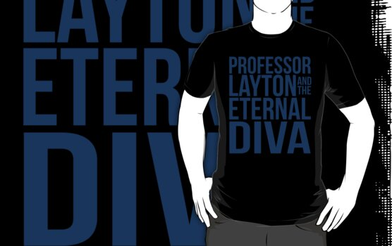 Professor Layton & The Eternal Diva by meltymonster