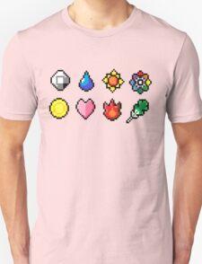 Indigo League Badges T-Shirt