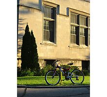 A Bicycle Waits For Someone Photographic Print