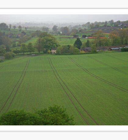 Wiltshire Landscape Sticker