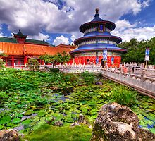 EPCOT - CHINA by Ray Chiarello