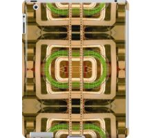 wire matrix collage iPad Case/Skin