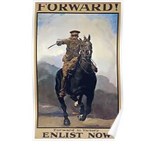 Forward! Forward to victory Enlist now 317 Poster