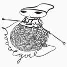 wool girl by blackbirdsong