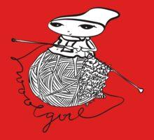 wool girl Baby Tee