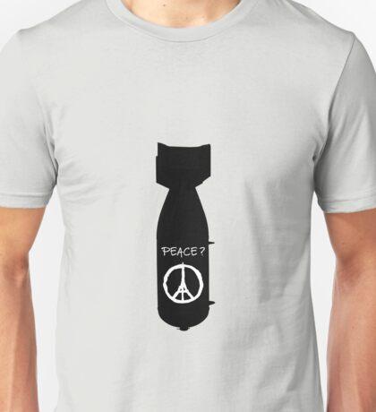 WAR IS PEACE.  (paris , eiffel) Unisex T-Shirt