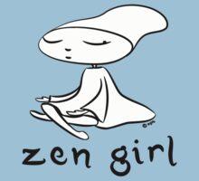 zen girl Baby Tee