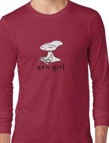 zen girl Long Sleeve T-Shirt