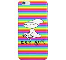 zen girl iPhone Case/Skin