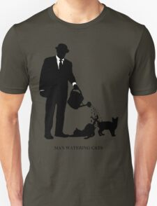 Man Watering Cats T-Shirt