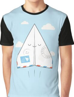 Airmail Graphic T-Shirt