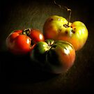 My garden tomatoes by EbyArts
