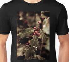 Holly bush with red berries III Unisex T-Shirt