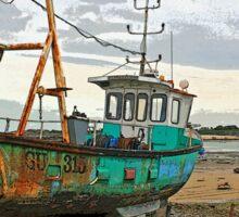 Guernsey Fishing Boat Sticker