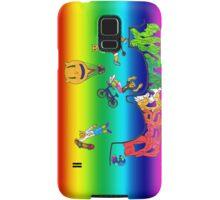 Percentum Xtreme Sports (rainbow) Samsung Galaxy Case/Skin