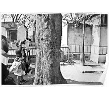 Jim Morrison memory tree in Paris Poster