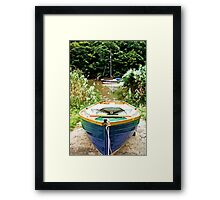 Slipway Framed Print