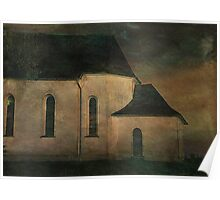 Church at Twilight Poster