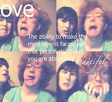 Love Isn't Ugly by Lauren  Hiebert