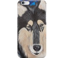 Rough-Haired Collie iPhone Case/Skin