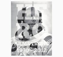 HERO | RIP Neil Armstrong A by Limited Apparel