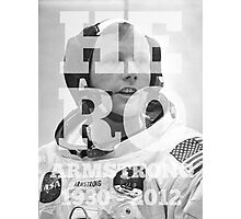 HERO | RIP Neil Armstrong A Photographic Print