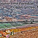 Postcard Fun - Paradise Ocean Grove by Jane Neill-Hancock