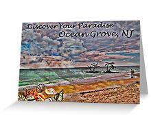 Postcard Fun - Paradise Ocean Grove Greeting Card