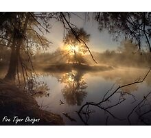 Dawn's First Rays Photographic Print