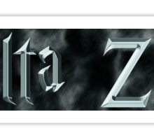 Delta Zeta Harry Potter Sticker