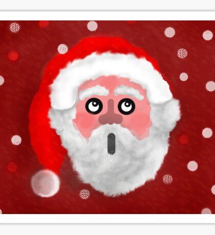 Father Christmas Sticker
