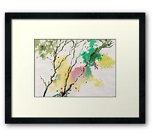 Trees N Colors Framed Print