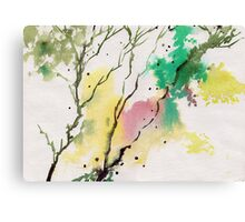 Trees N Colors Canvas Print