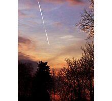 Sunset Streak Photographic Print