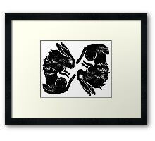 Wit and Bun Deux Framed Print