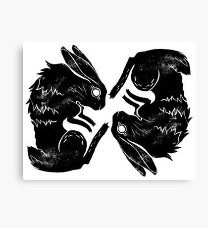 Wit and Bun Deux Canvas Print