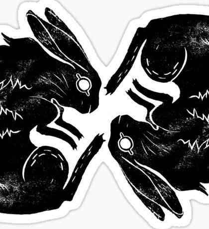 Wit and Bun Deux Sticker