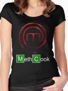 Masterchef-Breaking Bad Women's Fitted Scoop T-Shirt