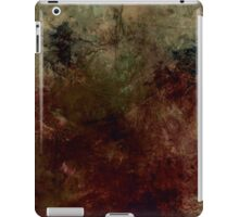 grunge background iPad Case/Skin