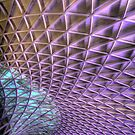The Roof at King's Cross Train Station by Phill Sacre