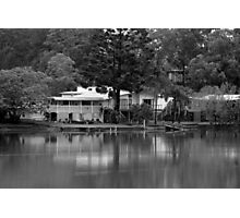 Kalang River Dwellings Photographic Print