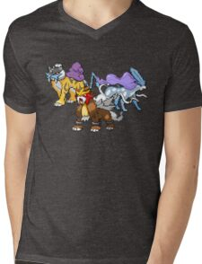 Legendary Dogs Mens V-Neck T-Shirt