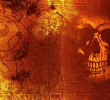 Fire Scull by scardesign11