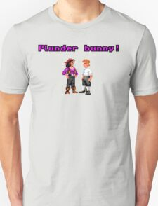 Monkey Island Plunder Bunny Retro Pixel DOS game fan item T-Shirt